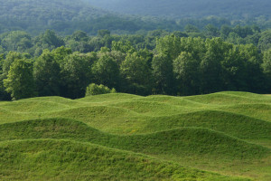 Maya Lin instillation at Storm King