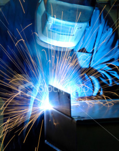 welding sparks picture